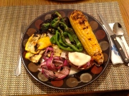 results from the grill - delish!
