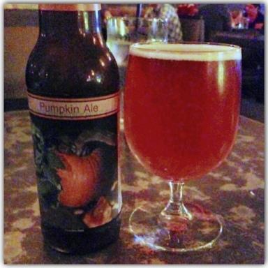 pumpkin beer from real pumpkin puree