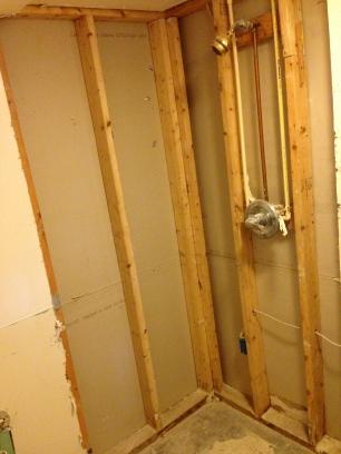 shower framing