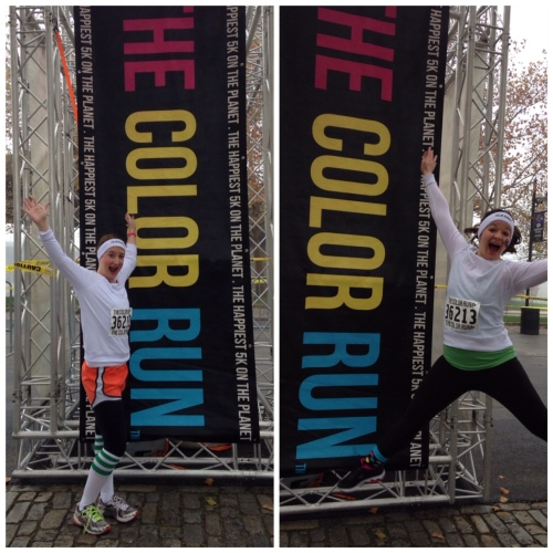 ready to run the rainbow!