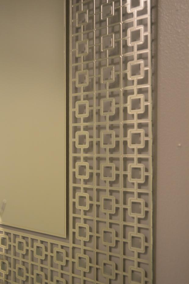 powder room mirror