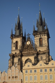 The Curch of our Lady before the Týn