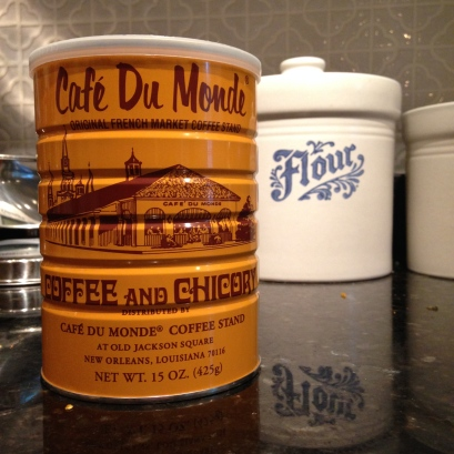coffee and chicory from NOLA