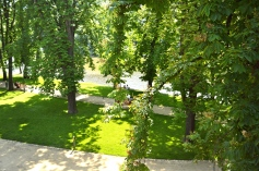 gardens along the Vltava River