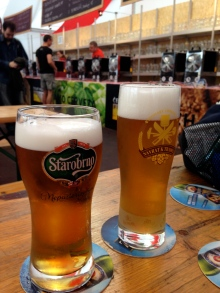 two of our Czech beers