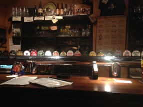 taps at the Prague Beer Museum