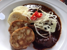 beef and dumplings