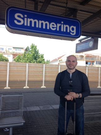 we got off at Simmering in Vienna to catch the metro