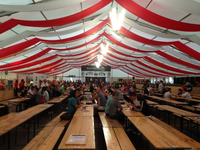 tents of beer