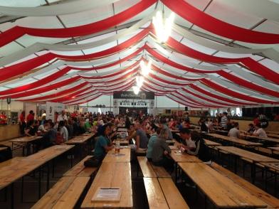 tents of beer