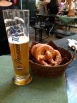 beer and pretzels :)