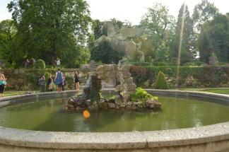 Mirabell Gardens fountain
