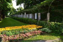 Mirabell Gardens trellis