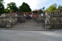 Mirabell Gardens steps
