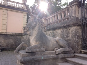 Mirabell Gardens unicorn