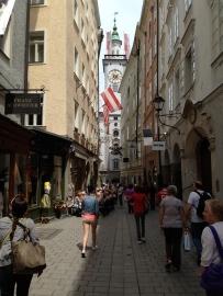 Salzburg city center - pedestrian only!