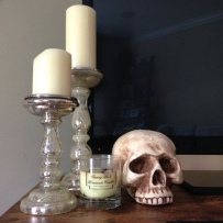 fall decor skull