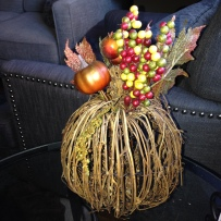fall decor pumpkin