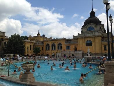 outdoor baths