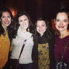 Liz, Crystal, Sophie and me