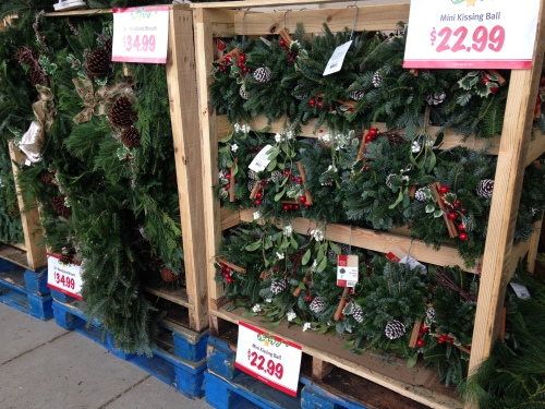 Wegman's holiday decor