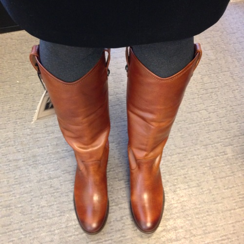 new Frye boots