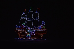 christmas pirate ship