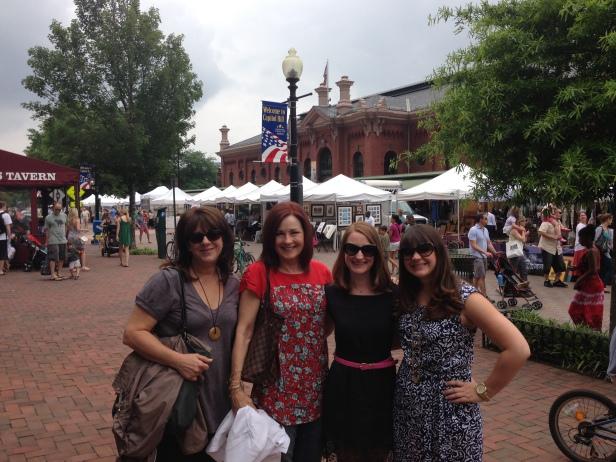Ladies at Eastern Market