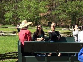 Touring the Mount Vernon Farm